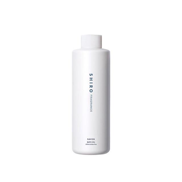 shiro(シロ)のSHIRO SAVON BATH OIL 200ml コスメ/美容のボディケア(入浴剤/バスソルト)の商品写真