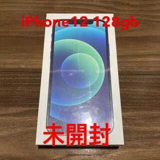 iPhone - iPhone 12 6.1インチ 128G ブルー SIMフリー新品未開封