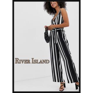 RIVER ISLAND - SALE❣️RiverIsland ストライプ柄 オールインワン タグ付き新品