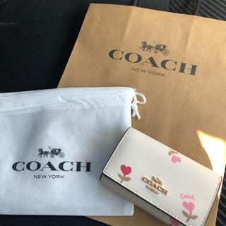 COACH - 新品 未使用 COACH コーチ キーケース キーリング付き