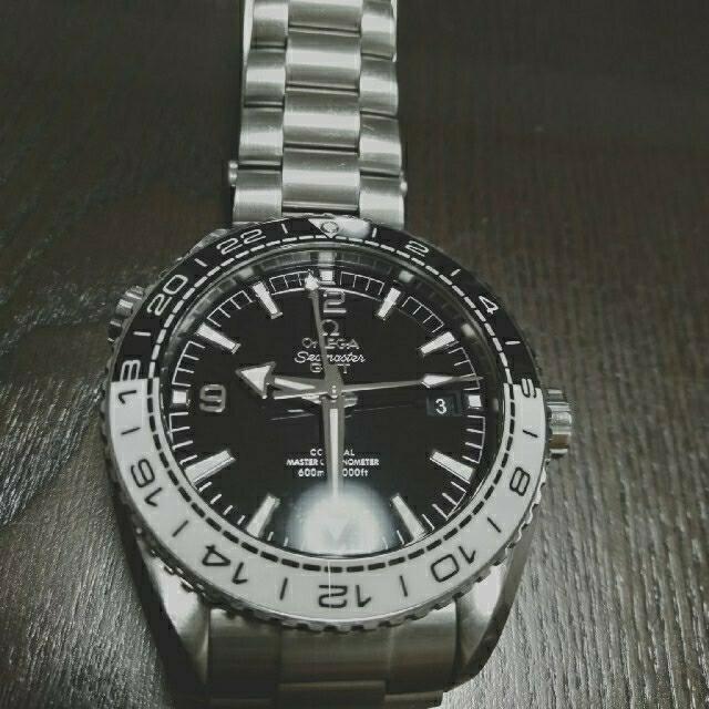 OMEGA(オメガ)のF348TB様専用オメガ プラネットオーシャン GMT  メンズの時計(腕時計(アナログ))の商品写真