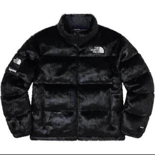 シュプリーム(Supreme)の 新品★supreme TNF faux fur nuptse jacket(その他)