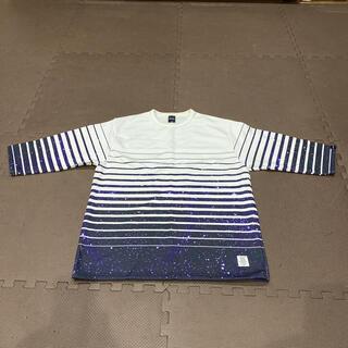 アップルバム(APPLEBUM)のAPPLEBUM / SPACE BORDER2 *FOOTBALL SHIRT(Tシャツ/カットソー(七分/長袖))