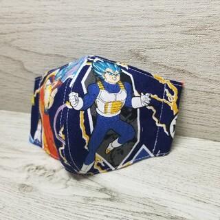 ドラゴンボール(ドラゴンボール)のドラゴンボール超** 子供 インナーマスク ハンドメイド(外出用品)