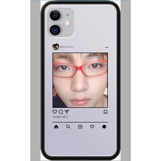 ボウダンショウネンダン(防弾少年団(BTS))のBTS テテ V デザインコード スマホケース(iPhoneケース)