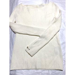 PROPORTION BODY DRESSING - 白リボン セーター