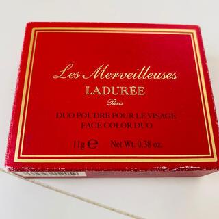 レメルヴェイユーズラデュレ(Les Merveilleuses LADUREE)の【値下げ中】LADUREE ラデュレ フェイスカラーパレット101(フェイスパウダー)