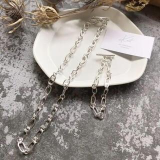 SENSE OF PLACE by URBAN RESEARCH - silver 925 chain necklace&bracelet  set