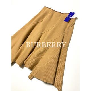 BURBERRY BLUE LABEL - 新品 BURBERRY BLUE LABEL デザインスカート 膝丈 日本製