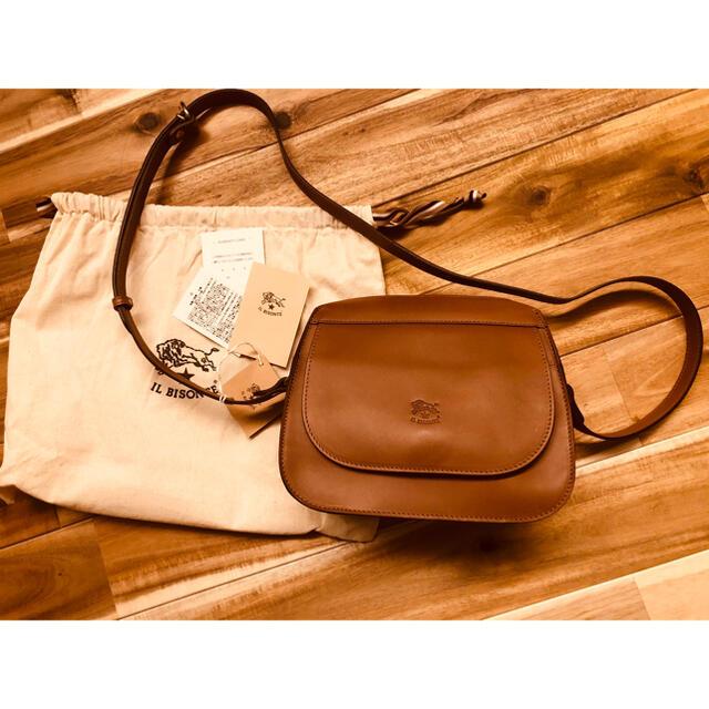 IL BISONTE(イルビゾンテ)のイルビゾンテ❤️チョコレート新品未使用 レディースのバッグ(ショルダーバッグ)の商品写真