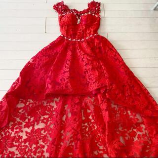 エンジェルアール(AngelR)のISMA  高級ロングドレス 透かしロングドレス キャバドレス(ロングドレス)