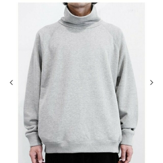 COMOLI - Graphpaper High Neck Sweat