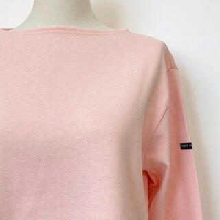 SAINT JAMES - 新品 セントジェームス  OUESSANT  ライトピンク T3