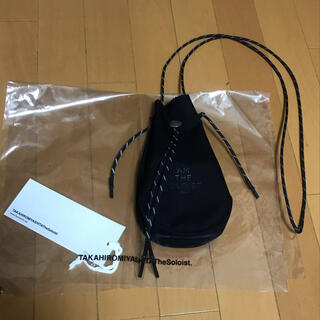 NUMBER (N)INE - soloist 限定 吉岡衣料店 drawstring bag バック ポーチ