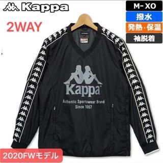 カッパ(Kappa)のM新品定価17600円カッパ 2WAY 中綿ジャケットゴルフウェア(ウエア)