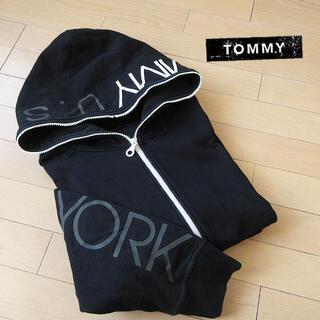 TOMMY - 美品 Mサイズ TOMMY トミー メンズ パーカージャケット ブラック