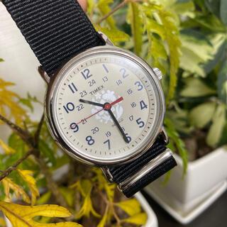 タイメックス(TIMEX)のTIMEX 腕時計 限定品 バンド新品交換(腕時計(アナログ))