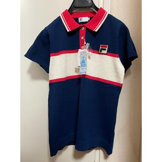 フィラ(FILA)の【新品】FILAフィラ テニス ポロシャツ ゲームシャツ ゴルフウエアレディース(ウェア)