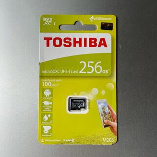 東芝 - microSDXCカード 256GB 東芝 TOSHIBA 高速100MB/s