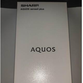 AQUOS - AQUOS  sense4 plus SH-M16 パープル SIMフリー
