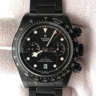 Tudor - 【美品】チューダー  ブラックベイクロノダーク 79360DK