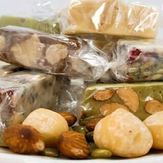 ヌガー  Mix (法式牛軋糖)  8種類入り食べ比べ(菓子/デザート)