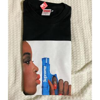 Supreme - 黒S supreme 21ss Tシャツ ピストル フォト tee