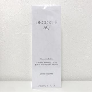 COSME DECORTE - 【新品】コスメデコルテ AQホワイトニングローション200ml