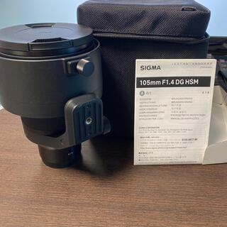 SIGMA - SIGMA 105mm F1.4 DG HSM/SE Sony Eマウント