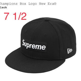 Supreme - Supreme 21SS Logo New Era black