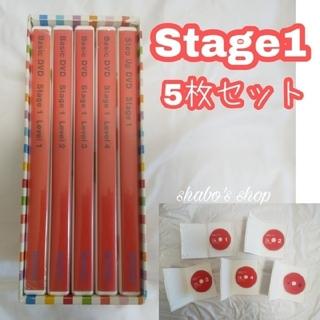 ワールドワイドキッズ★ステージ1 DVD5枚セット wke wwk mimi