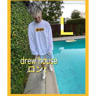 Drew House Secret LS Tee ドリューハウス ロンT 白 L(Tシャツ/カットソー(七分/長袖))