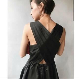Ameri VINTAGE - Ameri VINTAGE lady tuck flare dress