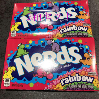 レインボー キャンディー 2箱★NERDS Rainbow Candy