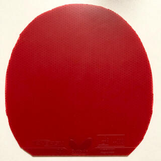 BUTTERFLY - ほぼ新品です! 卓球ラバー テナジー64 レッド 厚