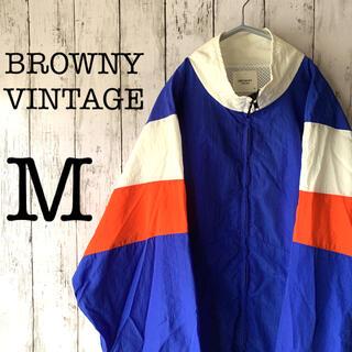 BROWNY - BROWNY×ゆるだぼ】古着 90's メンズ アウター ナイロンジャケット