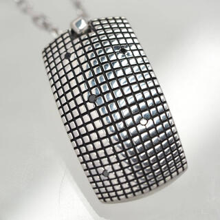 ダミアーニ メトロポリタンドリームブラックダイヤモンド×シルバーネックレス