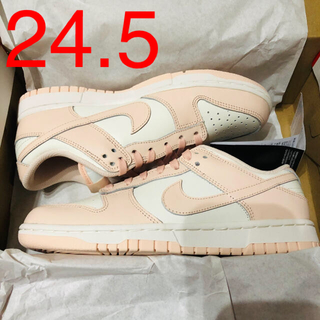 NIKE - NIKE WMNS DUNK LOW ORANGE PEARL 24.5cm