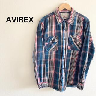 AVIREX - アヴィレックス ネルシャツ チェックシャツ