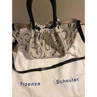 プロエンザスクーラー(Proenza Schouler)のProenza Schouler ★スネークパターン ハンドバッグ(ハンドバッグ)