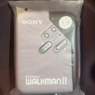 ウォークマン(WALKMAN)の当選品非売品 SONY レトロステレオウォークマン ポーチ(ポータブルプレーヤー)