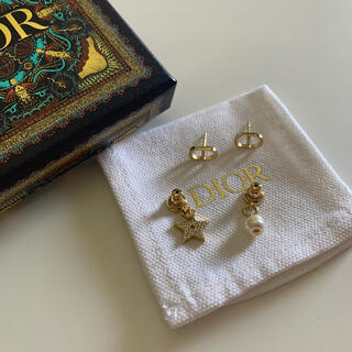 Christian Dior - 【正規品】Christian Dior ピアス