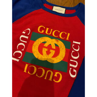Gucci - GUCCI ヴィンテージロゴ トレーナー スウェット