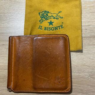 イルビゾンテ(IL BISONTE)のイルビゾンテ マネークリップ(折り財布)