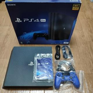 PlayStation4 - PS4Pro CUH-7200 1TB (モノラルヘッドセットなし)