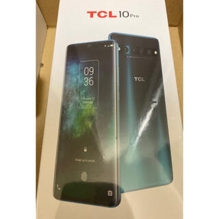 TCL 10 Pro Forest Mist Green フォレスト グリーン
