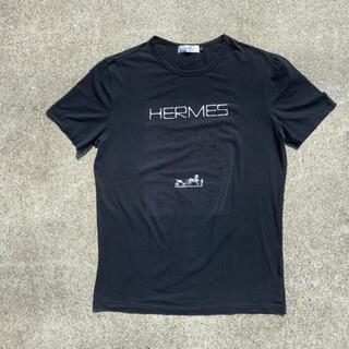 Hermes - HERMES エルメス Tシャツ ロゴプリント
