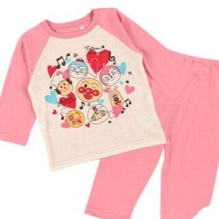 アンパンマン - 新品 95cm アンパンマン 女の子みんなで歌おう長袖パジャマ 女の子ピンク