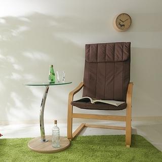 2021年 最新 くつろぎの時間 椅子 リラックスチェア ブラウン 送料無料(ハイバックチェア)