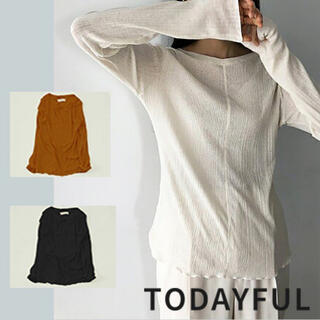 TODAYFUL - TODAYFUL LIFE'S Randomrib Long T-Shirts